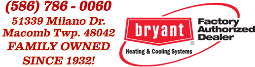 Factory Authorized Bryant Dealer